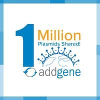 1 million plasmids shared